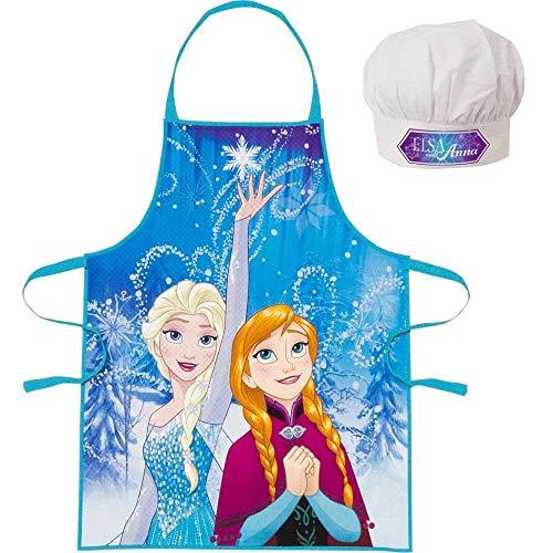 Frozen - Die Eiskönigin Anna und ELSA Chefkoch Set 2 TLG. Kochmütze & Kochschürze