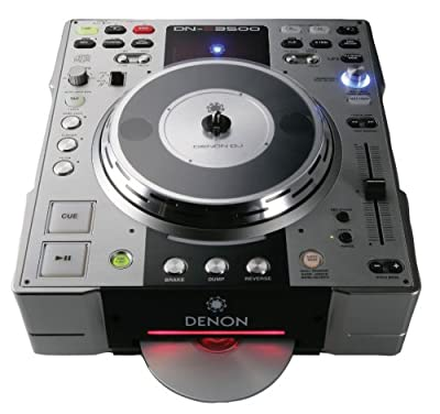 Denon DNS3500 DJ Tabletop CD and MP3 Player from Denon Electronics USA LLC