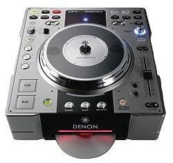 Denon DNS3500 DJ Tabletop CD and MP3 Player