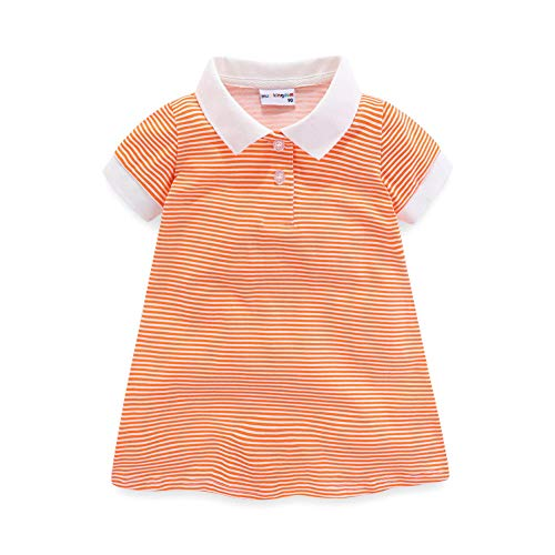 Mud Kingdom Toddler Girls Polo Dres…