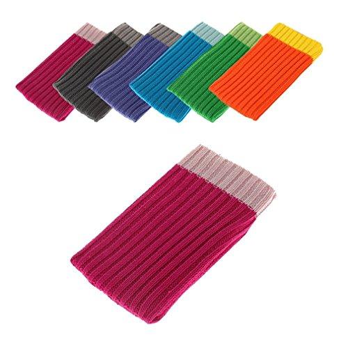 BRALEXX Universal Textil Socke passend für Allview E4, Pink