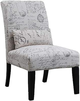 Amazon.com - Giantex Dining Chair Armless Linen Fabric ...