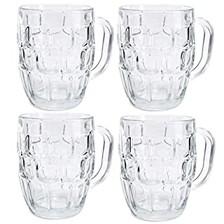 Draft by Home Essentials Beer Mug, Set of 4, Clear, 22 Ounce (B00KL2TQ84) | Amazon price tracker / tracking, Amazon price history charts, Amazon price watches, Amazon price drop alerts