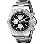 Breitling Watches Breitling Men's BTA1337111-BC29SS Super Avenger II Analog Display Swiss Automatic