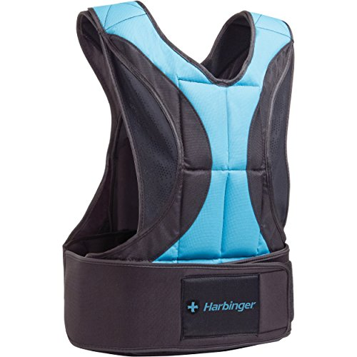 Harbinger Women's Adjustable Weight Vest for Cross-Training, Strength Training, and Endurance Workouts, 10 Pounds