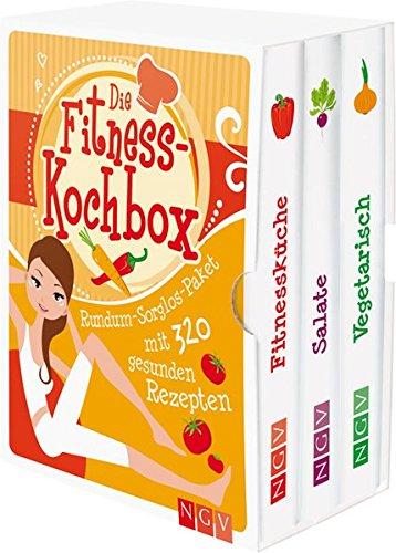 Die Fitness-Kochbox: Rundum-Sorglos-Paket mit 320 gesunden Rezepten
