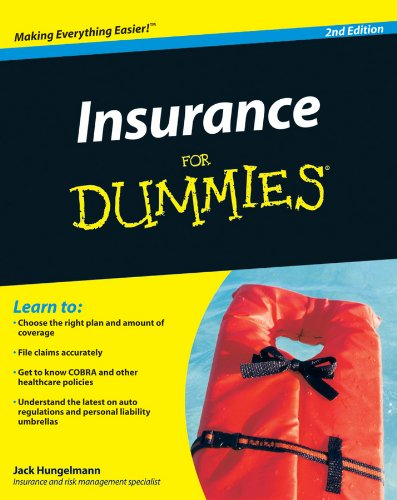 Compare Textbook Prices for Insurance for Dummies 2 Edition ISBN 8601416737263 by Hungelmann, Jack