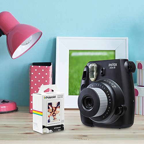 Polaroid PIF300 Instant Film Replacement - Designed for use with Fujifilm Instax Mini and PIC 300 Cameras (40 Sheets)