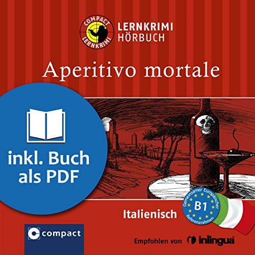 Aperitivo Mortale (Compact Lernkrimi Hörbuch) Titelbild