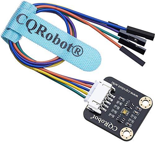 CQRobot Umgebung Slichtintensität Messung Sensor Kompatibel mit Raspberry Pi/Arduino/STM32. Eingebauter TSL25911FN-Chip, Erkennt Lichtintensität bis zu 88000Lux. für Notebooks, GPS, Smart Homes usw.