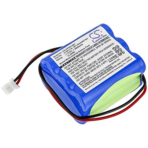 CS-VPX915BT Batería 2000mAh Compatible con [VISONIC] 0-9912-H, 0-9912-W, PowerMax 0-9912-H Control Panel, PowerMax 0-9913-W Control Panel, Powermax Plus, Powermax+, PowerMax+ Alarm Control Panel, [SE