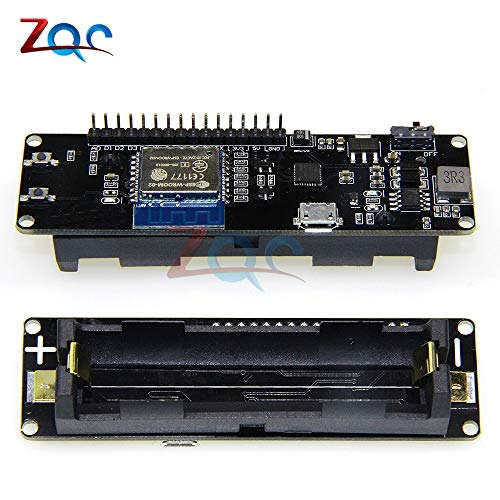 Für WeMos D1 ESP-WROOM-02 Motherboard ESP8266 Mini WiFi Nodemcu Modul 18650 Akku mit Micro-USB-Schalter