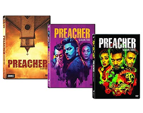 The Preacher: Seasons 1, 2 & 3 DVD Collection (The Complete First, Second and Third Season [AMC]