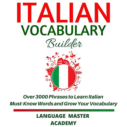 Italian Vocabulary Builder cover art