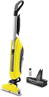 Kärcher elektrisk golvtvätt FC 5 för moppning med sugfunktion (effekt: 460 W, 60 m² per tankpåfyllning, tvättbara mikrofib...