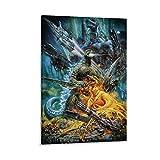 Godzilla Vintage-Poster auf Leinwand, Wandkunst,