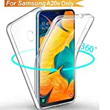 Galaxy A20e Case, Ultra Thin 360 [Front and Back