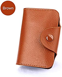 Genuine Leather Men Wallet ID Credit Card Holder Wallets Male Small Coin Purse Women Money Bag Vallet Mini Walet