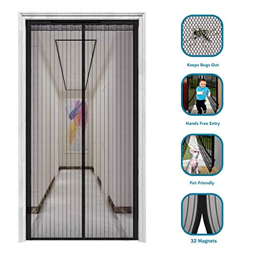 sliding glass pet door black - 5