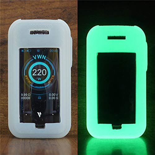 ModShield for Vaporesso Luxe 220W TC Silicone Case ByJojo Protective Cover Shield Sleeve Skin Wrap (Glow-in-The-Dark)