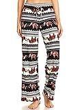 Leggings Depot PJ10-R620-S Lucky Elephant Print Pajama Pants, Small
