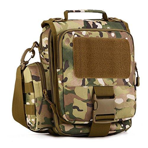 Messenger Bag Voyage Outdoor Riding Sac à bandoulière en nylon 26 * 29 * 12cm , 4
