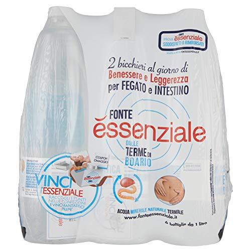 Fonte essenziale, acqua naturale - 1 L