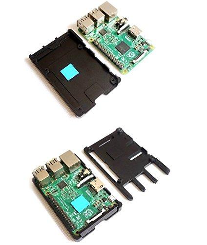 『SupTronics® Raspberry Pi 3B+ 3 Model B 2 B/B+用CNCケース ウルトラスリム アルミ製ヒートシンク搭載 吸熱構造 GPIO周辺機器対応』の5枚目の画像