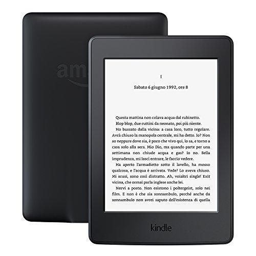 """Kindle Paperwhite (generazione precedente – 7ª), schermo da 6"""", con luce integrata, Wi-Fi (nero) – con offerte speciali"""