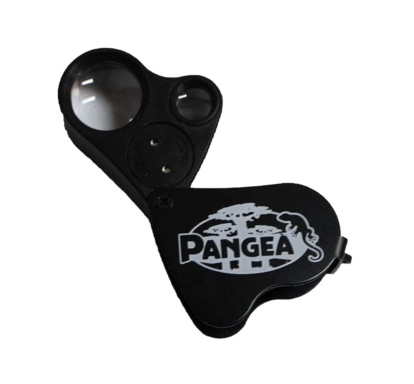 Pangea LED Dual 30X & 60X Magnifying Loupe Reptiles, Jewelry, Stamps, Horticulture, Etc