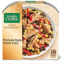 Healthy Choice Café Steamers Mexican Style Street Corn Frozen Meal, 9.25 oz.