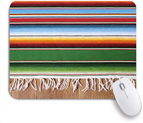 Marutuki Gaming Mouse Pad Rutschfeste Gummibasis,Mexikanischer Teppich,für Computer Laptop Office Desk,240 x 200mm