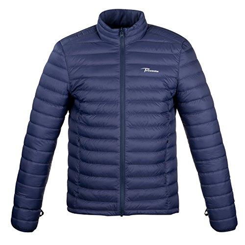 Timberbrother Piumino Uomo Down Jacket (Blu Navy, M)