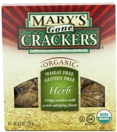 Mary's Gone Bargain sale Luxury goods Crackers Herb 6.5-Ounce Pack of 12 Boxes