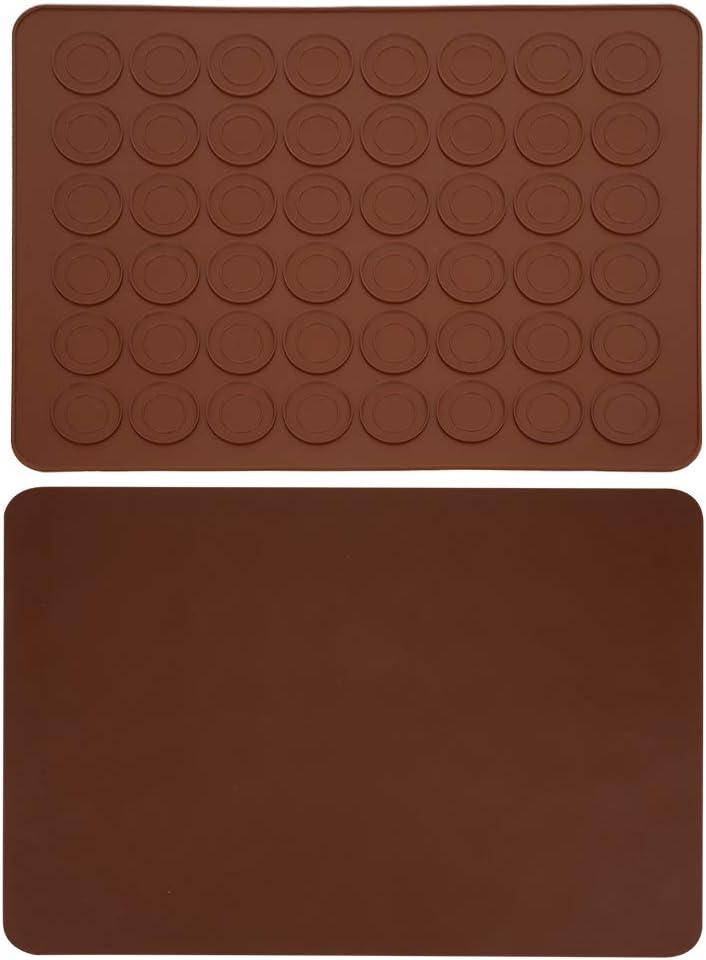 YIHEXUANkeji Silicone Baking Mats Bombing new work Max 72% OFF Macaron Pad Cake Baki