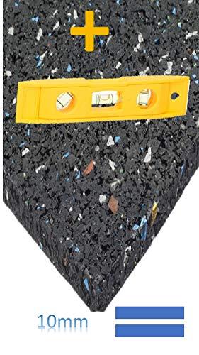 Hocheffiziente Antivibrationsmatte für Waschmaschinen, Lautsprecher usw. - zuschneidbar - Qualitätsprodukt aus Deutschland - viele Größen - 60x60cm von Conny Clever