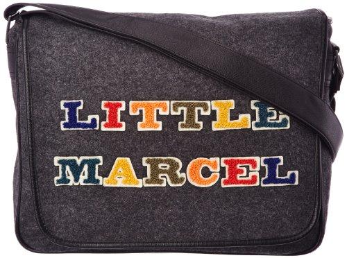 Little Marcel Billou, Sac bandoulière - Gris...