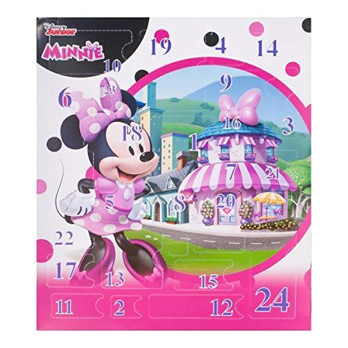 Lively Moments Adventskalender Disney Junior - Minnie Mouse mit Schmuck / Maus Weihnachtskalender / Weihnachten Mädchen Spielzeug