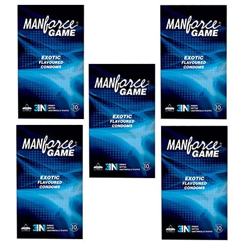 Manforce Condom Game Edition 10 pcs Set of 5