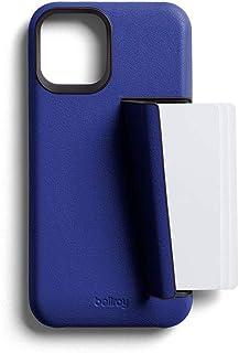 Bellroy Funda de Piel Slim Premium con Tarjetero para el iPhone 12-3 Tarjetas - Cobalt