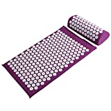 Basebody Massager Cushion Acupressure Mat Relieve Stress Pain Acupuncture Massage Pillow Spike Yoga