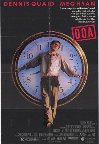 D.O.A. Poster Movie 11x17 Dennis Quaid Meg Ryan Charlotte Rampling Daniel Stern