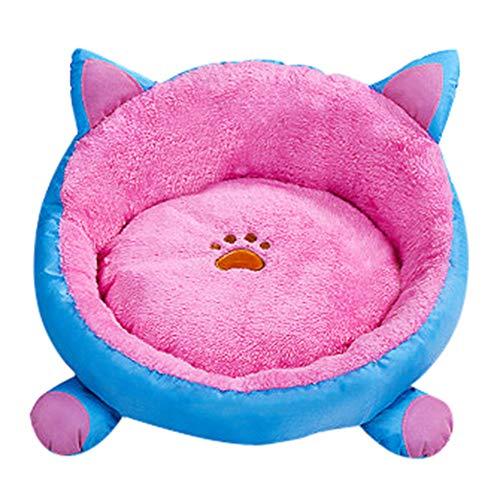 ForgetMe Lit pour Chien de Compagnie Rond pour Animal de Compagnie Coussin Moelleux Panier Lit Lavable pour Chien Cave Tapis de lit Pad pour Chiot Petit Chien Chat