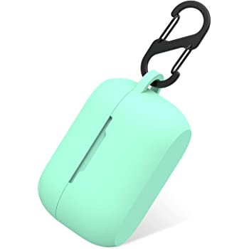 Amazon Com Aotao Silicone Case For Jabra Elite 75t Jabra Elite Active 75t Soft And Flexible Scratch Shock Resistant Cover With Carabiner For Jabra 75t Earbuds Elite 75t Teal Home Audio Theater