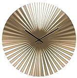 Reloj de Pared Karlsson Sensu de Acero, Color Dorado, Talla única