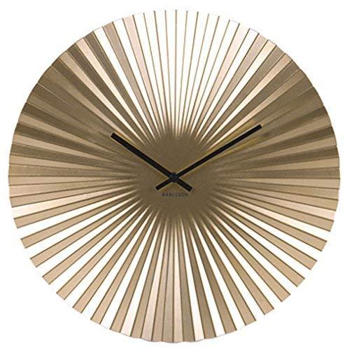 Karlsson Sensu Uhr, Wanduhr, Stahl, Gold, One Size