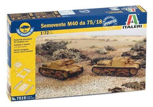 Italeri 510007519 - 1:72 Semovente M40 da 75/18, 2 Stück