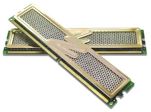 OCZ PC2-8500 Gold Edition Arbeitspeicher 4 GB DDR2-RAM Kit (1066 MHz, CL5, 2 x 2 GB)