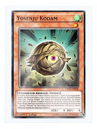 CROS-DE018 Yosenju Kodam 1. Auflage im Set mit original Gwindi Kartenschutzhülle
