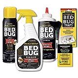 HARRIS Bed Bug Killer Value Bundle Kit - 32oz Bed Bug Killer, 16oz Aerosol Spray, 4oz Bed Bug Powder...